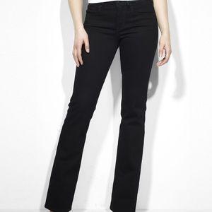 Levi's Demi Curve Classic Rise Boot Black Jeans